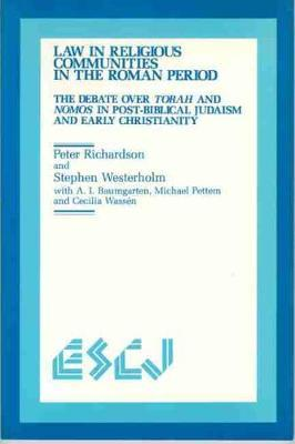 Law in Religious Communities in the Roman Period