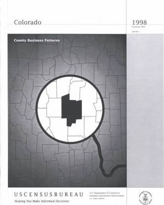 County Business Patterns Colorado 1998