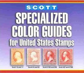 Scott Specialized Color Guides For United States Stamps