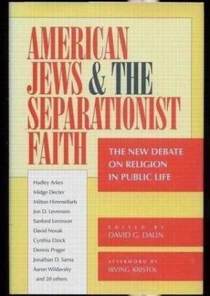 American Jews and the Separationist Faith