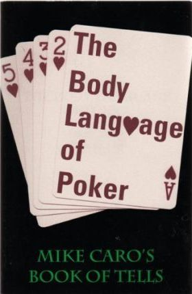 The body language of poker mike caro wheel of fortune mac