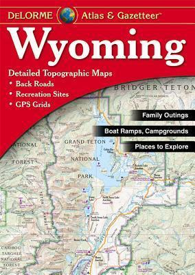 Wyoming Atlas & Gazetteer Cover Image