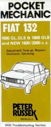workshop manual for fiat 132 1600 1800 and 2000c c to 1977 rh bookdepository com Fiat 128 Fiat 128