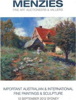 Important Australian and International Fine Paintings and Sculpture