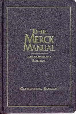 the merck manual of diagnosis and therapy centennial edition m d rh bookdepository com 1899 Merck Manual Online Merck Manual Inside