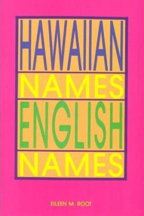 Hawaiian Names--English Names
