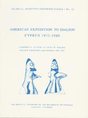 American Expedition to Idalion, Cyprus 1973-1980