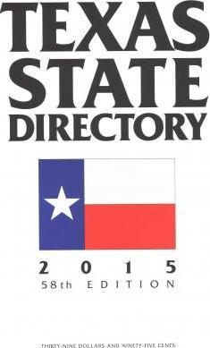 Texas State Directory 2015