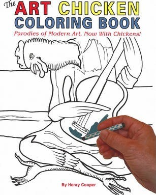 The Art Chicken Coloring Book