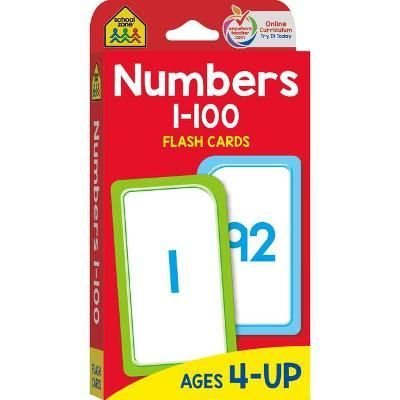 Flash Cards - Numbers 1 - 100