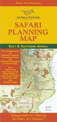 Where Is Mount Kilimanjaro On A Map Of Africa.Safari Planning Map To East And Southern Africa Mark W Nolting