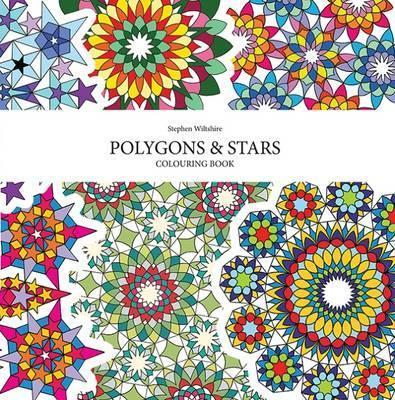 Polygons and Stars Colouring Book