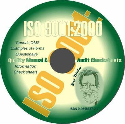 iso 9001 2000 quality manual and audit checksheets ray tricker rh bookdepository com HP SmartStart CD ISO ISO Standards