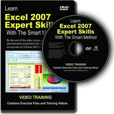 Learn Excel 2010 Expert Skills with The Smart Method DVD-ROM Video Course