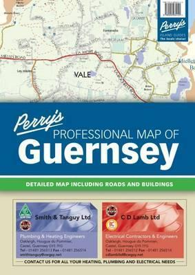 Perry's Professional Map of Guernsey