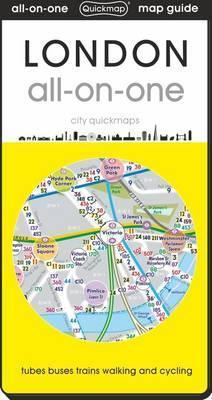 London Map With Sights.London All On One Tube Bus Train Walking And Sights 2019