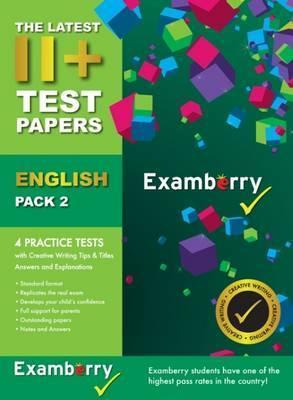 11+ Test Papers English Pack 2