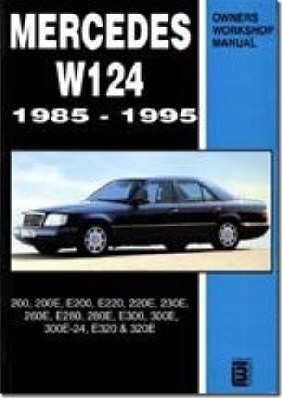 mercedes w124 owners workshop manual 1985 1995 brooklands books rh bookdepository com w124 250d owners manual w124 owner's manual pdf