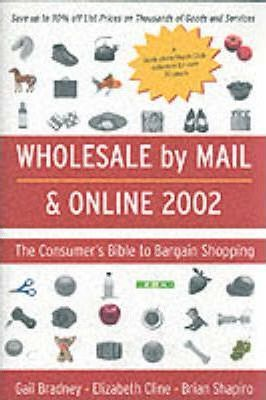 Wholesale by Mail and Online