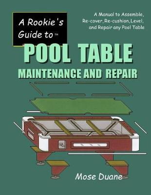 A Rookie's Guide to Pool Table Maintenance and Repair : Mose