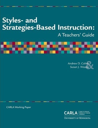Styles- And Strategies-Based Instruction