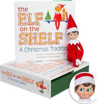 The Elf on the Shelf Boy Light Doll with Book