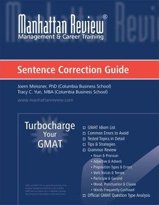Manhattan Sentence Correction Book