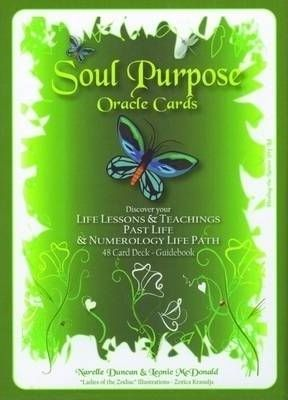 Soul Purpose Oracle Cards  Discover Your Life Lessons and Teachings, Past Life and Numerology Life Path
