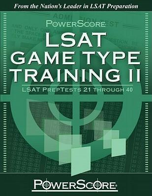 Powerscore LSAT Game Type Training II