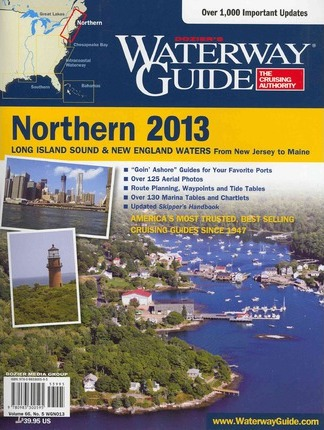 Dozier's Waterway Guide 2013 Northern Long Island Sound & New England Waters