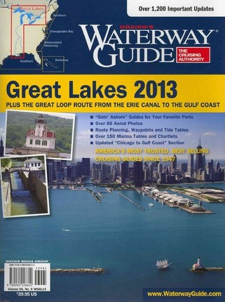 Dozier's Waterway Guide Great Lakes 2013