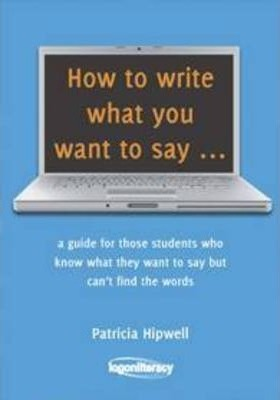 how to write what you want to say book