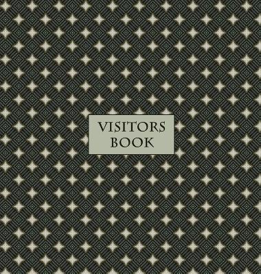 Visitors Book (Hardback), Guest Book, Visitor Record Book, Guest Sign in Book  Visitor guest book for clubs and societies, events, functions, small businesses, B&Bs etc