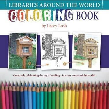 Libraries Around the World Coloring Book