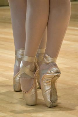 En Pointe in Ballet Shoes Dance Journal  150 Page Lined Notebook/Diary
