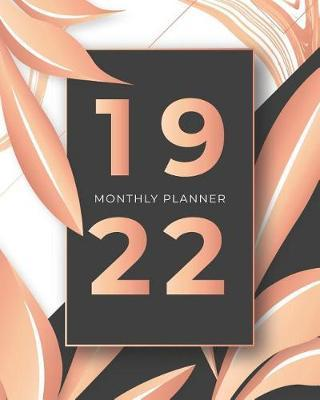 2019-2022 Monthly Planner  3 Year Agenda Planner and Organizer With Schedule - August 2019 to July 2022
