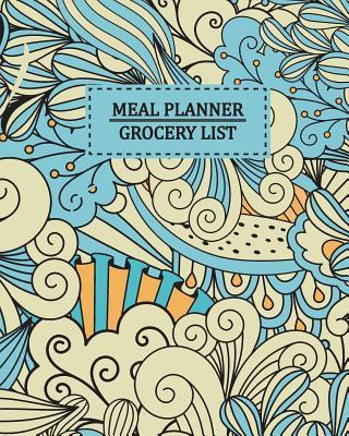 Meal Planner Grocery List  52 Weekly Food Planner for Organized Weekly & Daily Planning Shopping List Checklist for Convenient Shopping Funny Gift for Women, Men