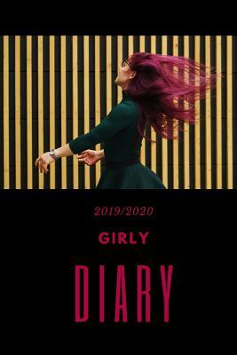 Girly Diary  Weekly Planner, July1st 2019 - 31st December 2020, 79 Pages, Hardy Matte Cover Finish.