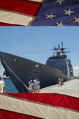 U S Navy Missile Cruiser Ship USS Bunker Hill (CG 52) Close Up Journal  Take Notes, Write Down Memories in this 150 Page Lined Journal