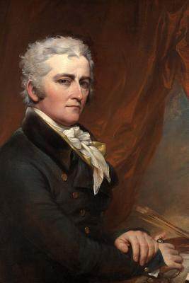John Trumbull Self Portrait 1802 Journal  Take Notes, Write Down Memories in this 150 Page Lined Journal
