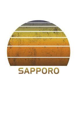 Sapporo  Japan Dot Grid Notebook Paper For Work, Home Or School. Vintage Dotted Paper Note Pad For Bullet Style Journaling.