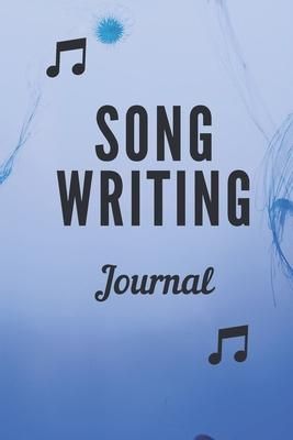 Songwriting journal  Blank Ruled Lined Composition Notebook Journal