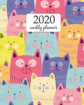 2019 Weekly Planner Calendar Schedule Organizer Appointment Journal Notebook and Action day cute all dogs art design