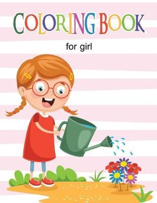 Coloring Book for Girl  Activity Book for Girls, Fun, Easy and Relaxing
