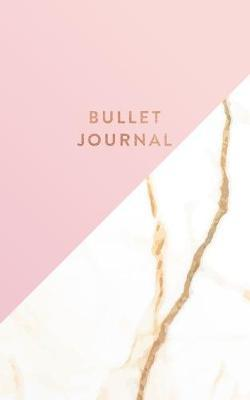 Bullet Journal  Pink and White Marble - Dot Grid Bullet Journal Notebook, Gift for Women and Teen Girls (5 x 8 - 120 pages)