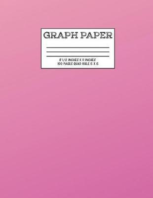 Graph Paper : Notebook Pink Gradient Cute Pattern Cover Graphing Paper Composition Book Cute Pattern Cover Graphing Paper Composition Book