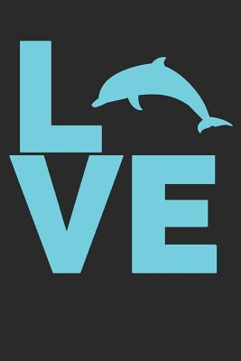 I Love Dolphins  Small Lined Notebook Journal