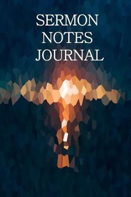 Sermon Notes Journal  For Men Serious About Following Jesus (Blue Green)