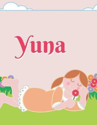 Yuna Personalized Sketchbook Journal Notebook  A Sketchbook, Daily Diary, Composition Book Combo, Gift Idea for Someone Named Yuna!!