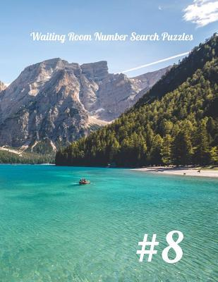 Waiting Room Number Search Puzzles #8